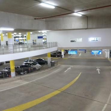 Schilderwerkzaamheden parkeergarage Mikado
